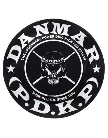 Danmar 210SK Pad Parche Bombo Skull