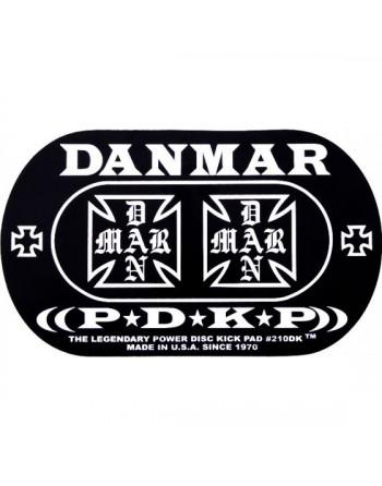 Danmar 210DKIC Pad Parche Doble Pedal Iron Cross
