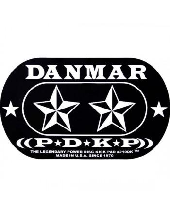 Danmar 210DKST Pad Parche Doble Pedal Stars
