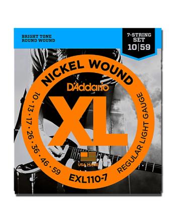 Daddario  EXL110-7 Juego Electrica 10-59