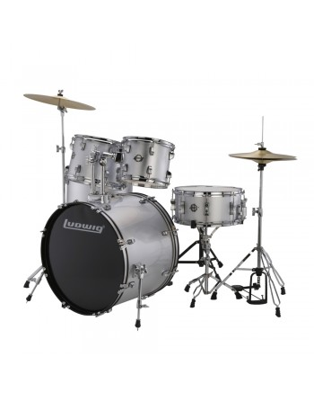 Ludwig LC17515 Accent Drive Silver Foil