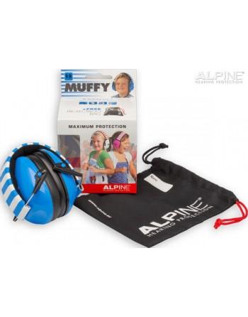Alpine Muffy Kids Azul Protector Auditivo