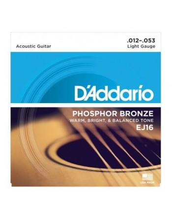 DADDARIO EJ16 - Phosphor Bronze Light [12-53]