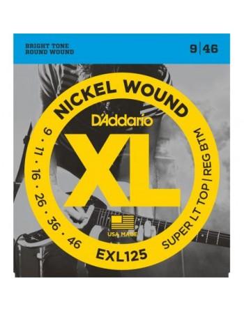 Daddario cuerdas guit elec EXL125  (09-46)
