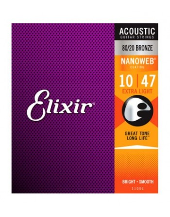 Elixir Nanoweb Acústica 10/47