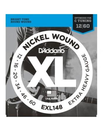 Daddario  EXL148 Juego Electrica 012-60