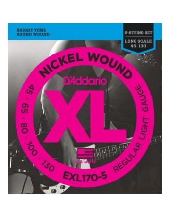 Daddario cuerda bajo EXL170 (45-130)