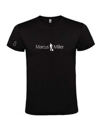 Marcus Miller camiseta talla L.