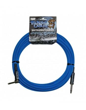 Tsunami  G20-RSTB Cable Acodado 6m TC Blue