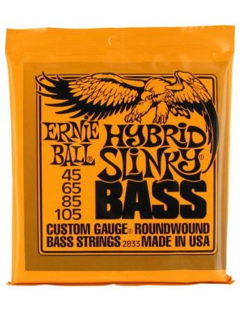 Ernie Ball 2833 Hybrid Slinky bajo 45-105