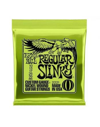 Ernie Ball Slinky regular eléctrica 10-46