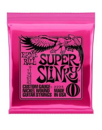 Ernie Ball Slinky super eléctrica 9-42