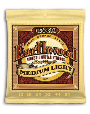 Ernie Ball Earthwood Bronze medium acústica 12-54