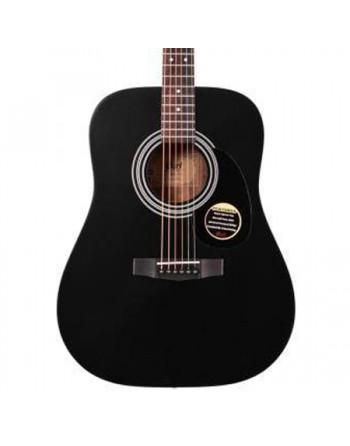 Cort guitarra acústica AF510E BKS