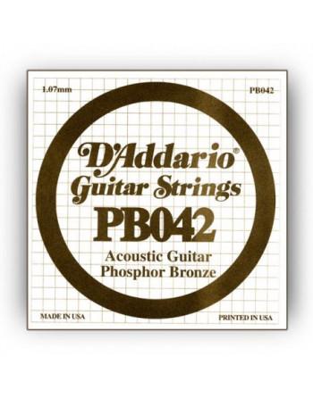Daddario PB042 Cuerda Acustica