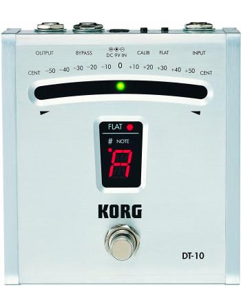 Korg DT-10 Afinador Tipo Pedal