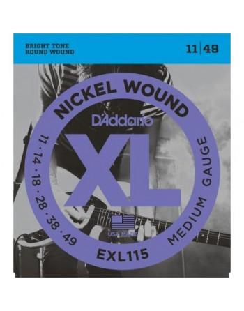 Daddario  EXL115 11 49